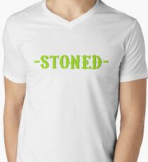 stoned stoner smoke weed marijuana cannabis hippie reggae T-Shirt