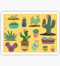 Desert Plants Sticker