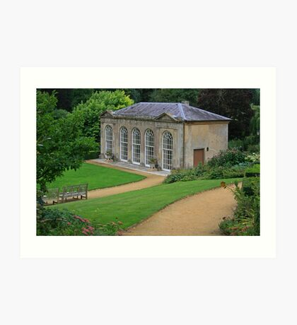 The Orangery, Sherborne Castle Gardens Art Print