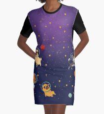 Space pets Graphic T-Shirt Dress