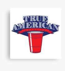 True American Champion (Variant) Canvas Print
