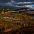 Fall scenery at The Trossachs National Park by Jeremy Lavender Photography