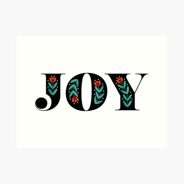 'Folky Dokey' – Joy Art Print by Suzie London Art Print