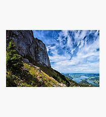 Hiking in Austria Photographic Print