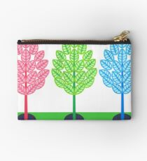THREE TREES - BRUSH AND GOUACHE Studio Pouch