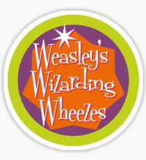 Weasley's Wizarding Wheezes logo Sticker