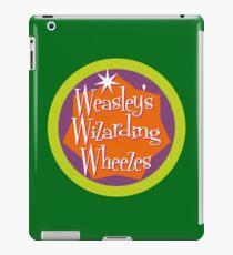 Weasley's Wizarding Wheezes logo iPad Case/Skin