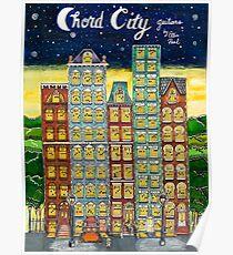Chord City by Ellis Paul Poster