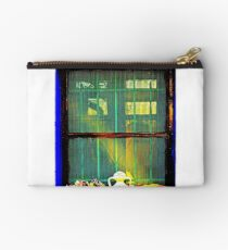 Cross Processed image of a window Studio Pouch