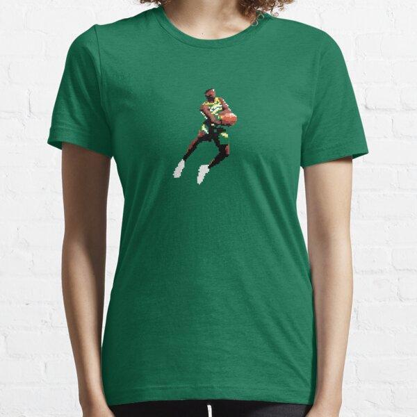 Shawn Kemp pixel windmill dunk Essential T-Shirt