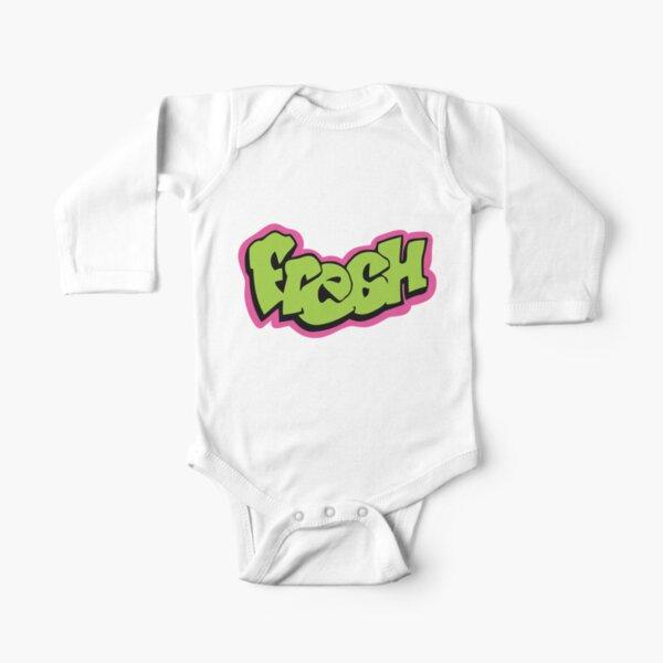 Fresh graffiti Long Sleeve Baby One-Piece