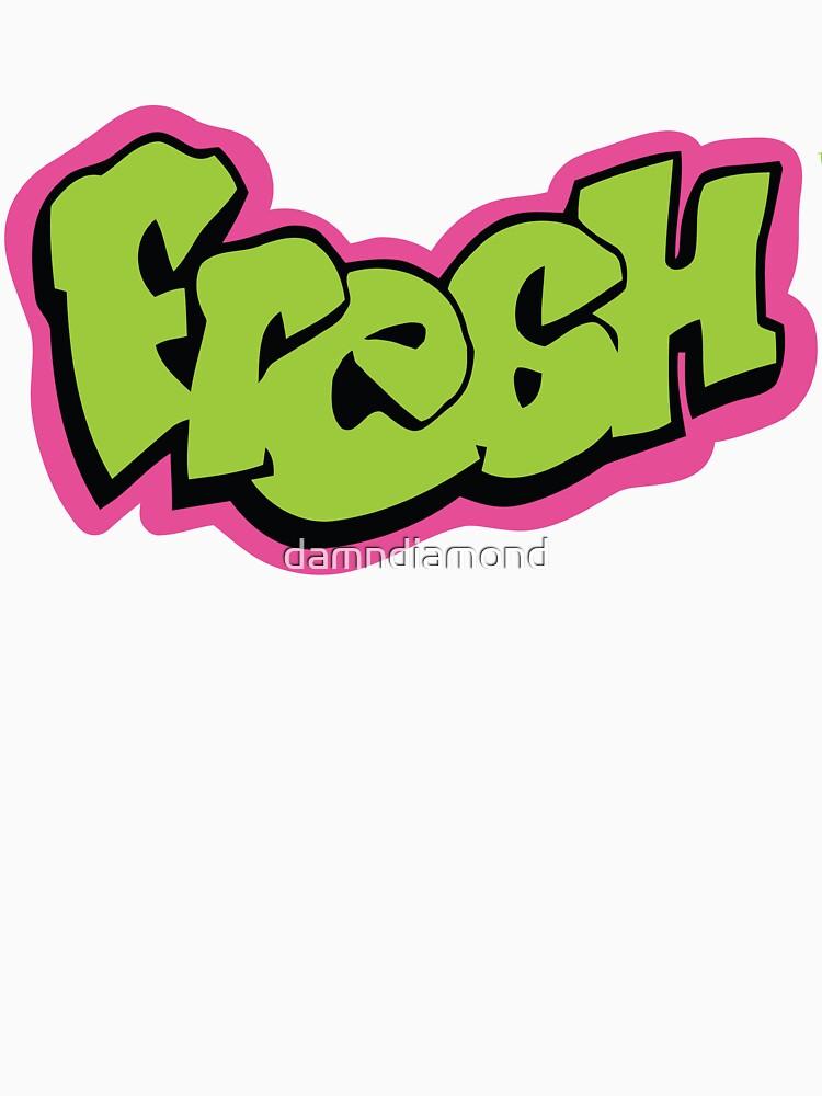Fresh graffiti by damndiamond
