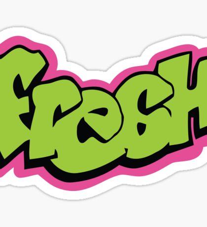 Fresh graffiti Sticker