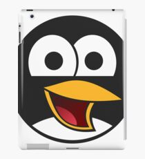 Linux Angry Tux iPad Case/Skin