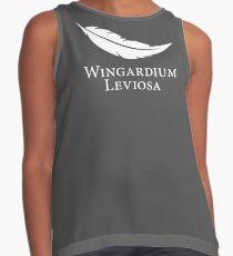 Wingardium Leviosa Contrast Tank