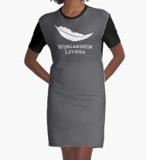 Wingardium Leviosa Graphic T-Shirt Dress