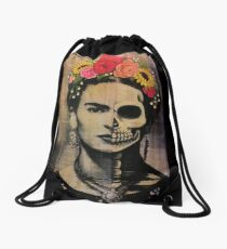 Frida  Drawstring Bag