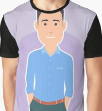 Business man Graphic T-Shirt