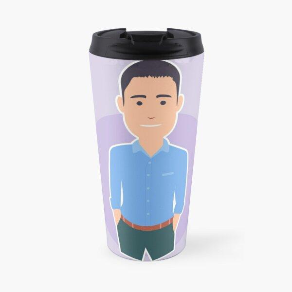 Business man Travel Mug