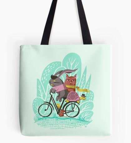 Ride Along Tote Bag