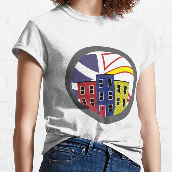 Jelly Bean Row in Newfoundland Classic T-Shirt