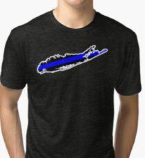 Camiseta de tejido mixto Long Island Thin Blue Line