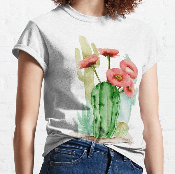 Cactus succulents composition Classic T-Shirt