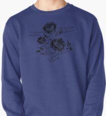 Roses and Love Urdu Poem Calligraphy Pullover Sweatshirt