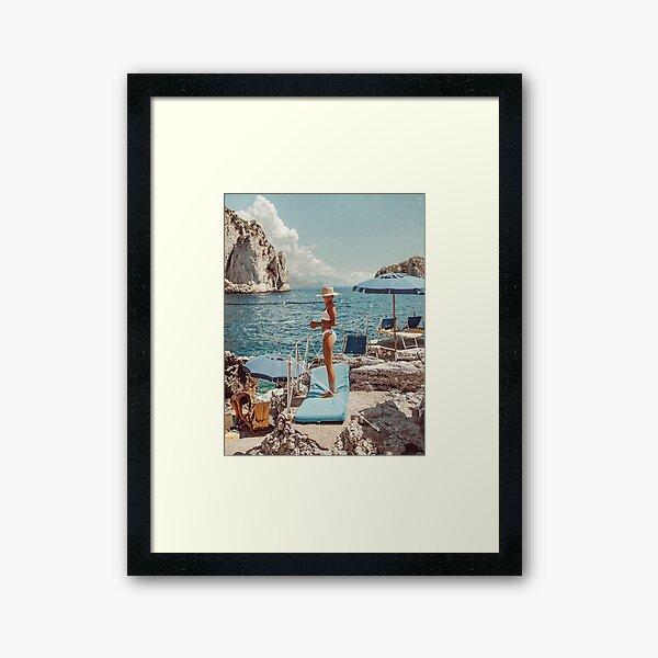 Vacaion Framed Art Print