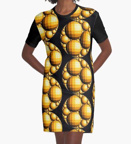 Apollonian Gasket 005 Graphic T-Shirt Dress