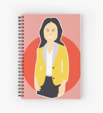 Business Woman Spiral Notebook