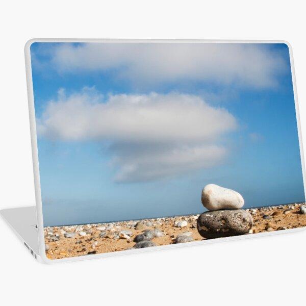 Three Pebbles ... Three Clouds ... Laptop Skin
