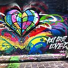 Melbourne Graffiti 4 : Photographs by Roz McQuillan by Roz McQuillan
