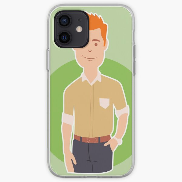 Business man iPhone Soft Case