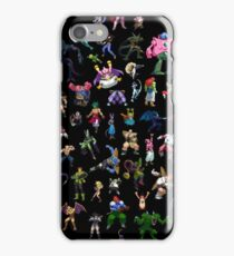 A Rogue's Gallery (sprites) iPhone Case/Skin