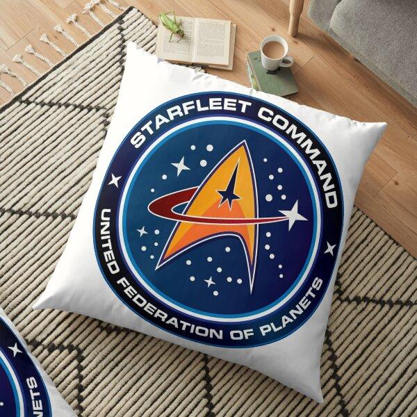 Starfleet Badge Floor Pillow