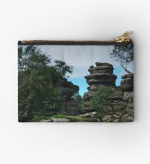 At Brimham Rocks 2 Studio Pouch