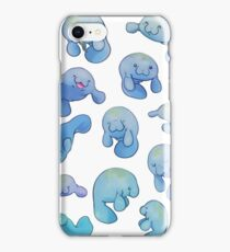 Manatees iPhone Case/Skin