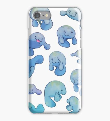 Manatees iPhone Case/Skin