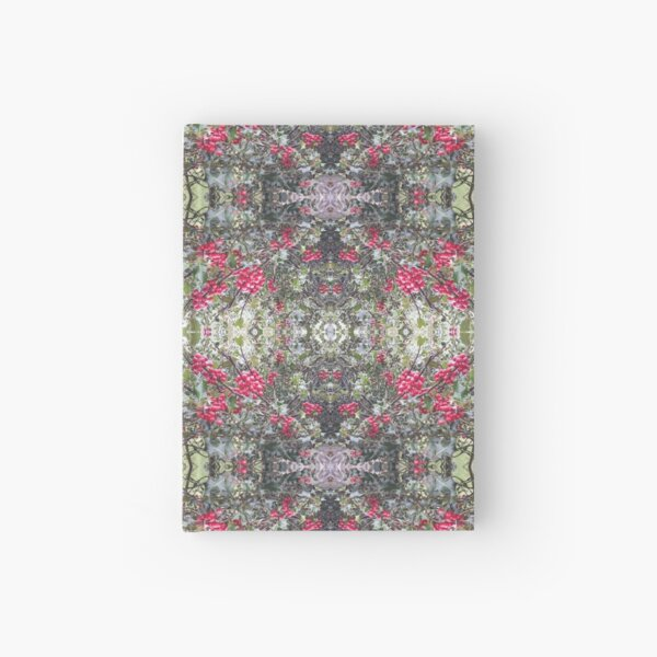 Holly Berry Photo 806 Frieze Fractal Hardcover Journal
