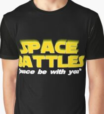 SPACE BATTLES peace be with you Graphic T-Shirt
