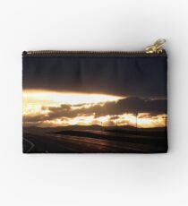 Highway Sunset Studio Pouch