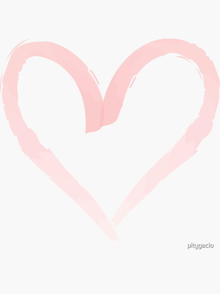 Aquarell Herz. von pitygacio