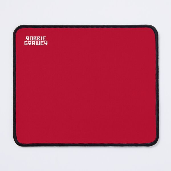 [robbie grawey] Typeface Logo Mouse Pad