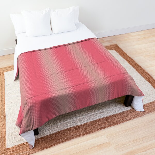 Rose and pink gradient Comforter