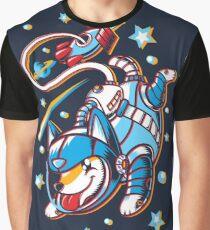 Space Corgi Graphic T-Shirt