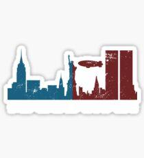 Manhatan - Fringe Themed Sticker