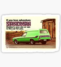 Holden Sandman Panel Van - Nostalgic © Sticker