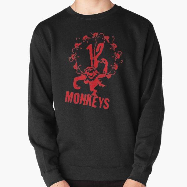 12 Monkeys  Pullover Sweatshirt