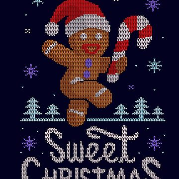Sweet Christmas Ugly Sweater. Dulce NAvidad by IdeasConPatatas